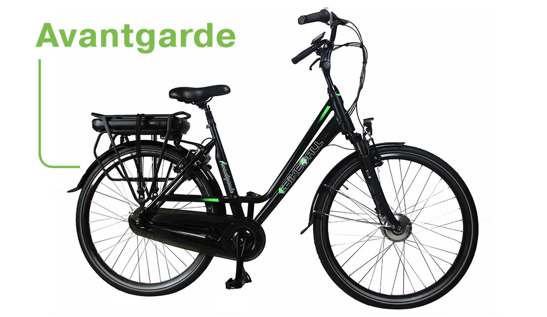 Ebike4all Avantgarde Elektrische fiets EV-Center