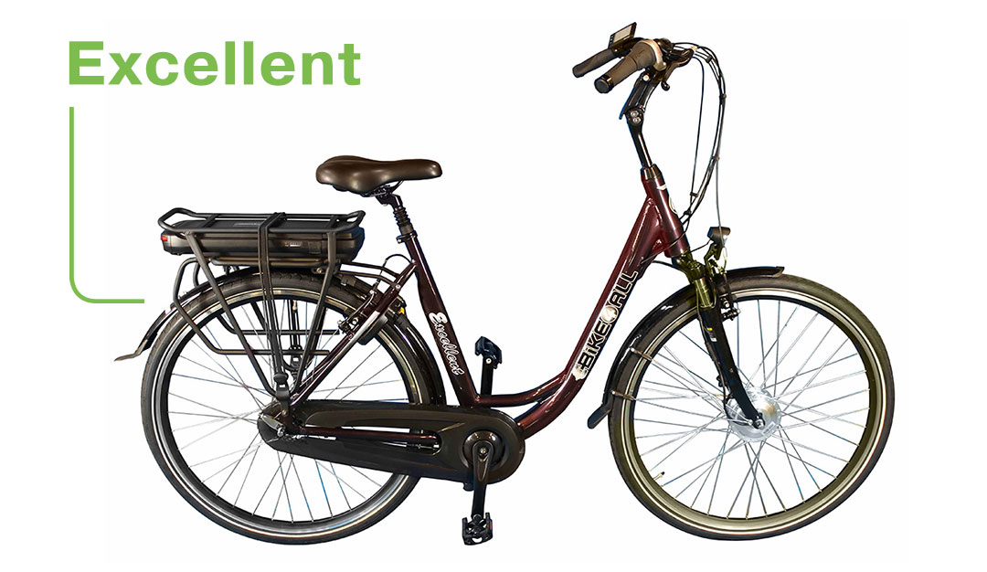 Ebike4all Excellent Elektrische fiets EV-Center